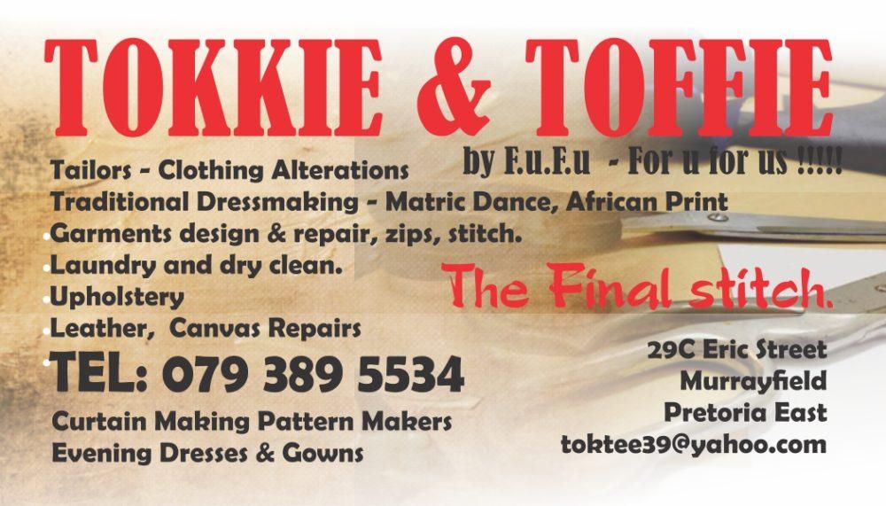 Tokkie And Toffie Saddle Manrepairs Making Services Val De