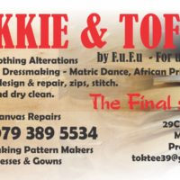Tokkie And Toffie Saddle man,Repairs ,Making & Services.