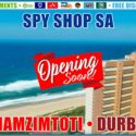 Spy Shop SA Opening Soon in Amanzimtoti